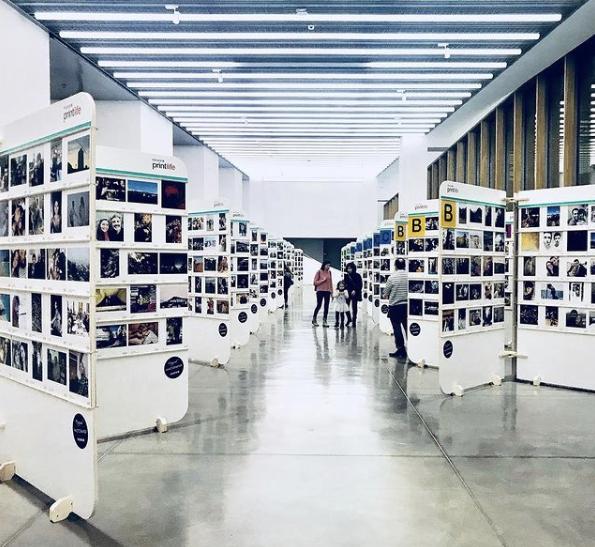 Exposición Fujifilm Printlife de Barcelona